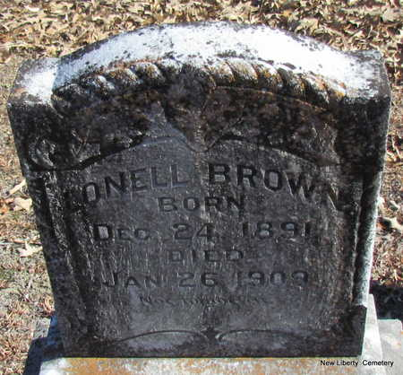 BROWN, LONELL - Faulkner County, Arkansas | LONELL BROWN - Arkansas Gravestone Photos