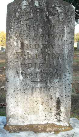 BROWN, MARTHA - Faulkner County, Arkansas | MARTHA BROWN - Arkansas Gravestone Photos