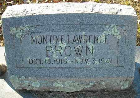BROWN, MONTINE - Faulkner County, Arkansas | MONTINE BROWN - Arkansas Gravestone Photos