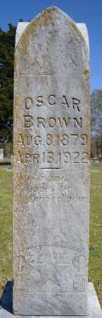 BROWN, OSCAR - Faulkner County, Arkansas | OSCAR BROWN - Arkansas Gravestone Photos