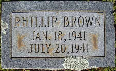 BROWN, PHILLIP - Faulkner County, Arkansas | PHILLIP BROWN - Arkansas Gravestone Photos