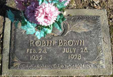 BROWN, ROBIN - Faulkner County, Arkansas | ROBIN BROWN - Arkansas Gravestone Photos