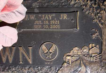 "BROWN, JR (VETERAN WWII), J W ""JAY"" - Faulkner County, Arkansas 
