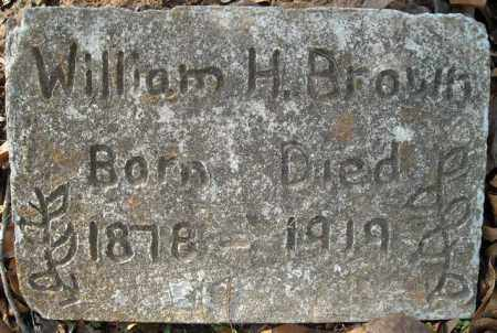 BROWN, WILLIAM HENRY - Faulkner County, Arkansas | WILLIAM HENRY BROWN - Arkansas Gravestone Photos