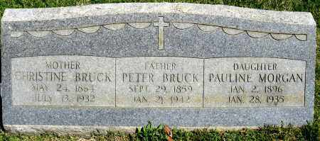 BRUCK, CHRISTINE - Faulkner County, Arkansas | CHRISTINE BRUCK - Arkansas Gravestone Photos