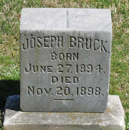 BRUCK, JOSEPH - Faulkner County, Arkansas | JOSEPH BRUCK - Arkansas Gravestone Photos