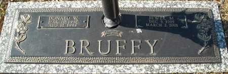 BRUFFY, DONALD W. - Faulkner County, Arkansas | DONALD W. BRUFFY - Arkansas Gravestone Photos
