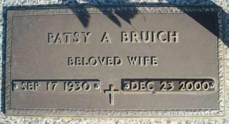 BRUICH, PATSY A. - Faulkner County, Arkansas | PATSY A. BRUICH - Arkansas Gravestone Photos