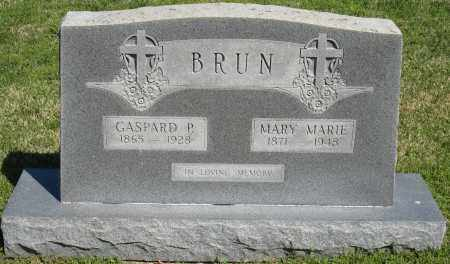 BRUN, MARY MARIE - Faulkner County, Arkansas | MARY MARIE BRUN - Arkansas Gravestone Photos