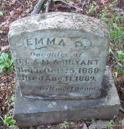 BRYANT, EMMA - Faulkner County, Arkansas | EMMA BRYANT - Arkansas Gravestone Photos