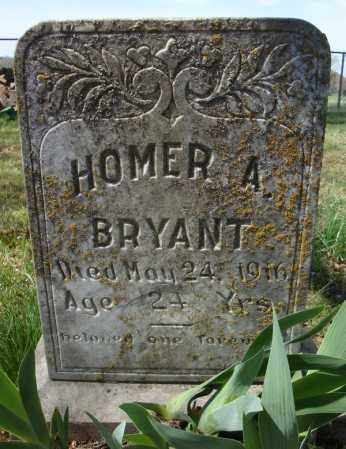 BRYANT, HOMER A. - Faulkner County, Arkansas | HOMER A. BRYANT - Arkansas Gravestone Photos