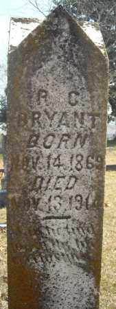 BRYANT, R.C. - Faulkner County, Arkansas | R.C. BRYANT - Arkansas Gravestone Photos