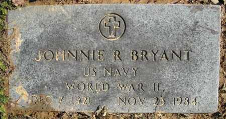 BRYANT (VETERAN WWII), JOHNNIE R. - Faulkner County, Arkansas | JOHNNIE R. BRYANT (VETERAN WWII) - Arkansas Gravestone Photos