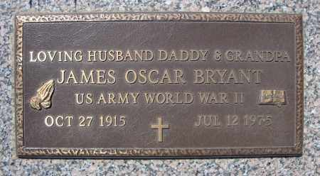 BRYANT (VETERAN WWII), JAMES OSCAR - Faulkner County, Arkansas | JAMES OSCAR BRYANT (VETERAN WWII) - Arkansas Gravestone Photos