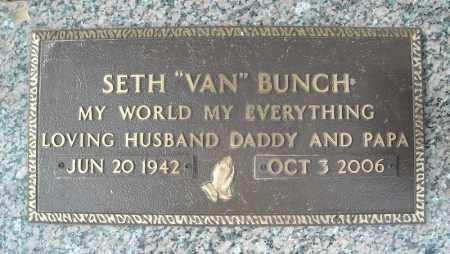 BUNCH, SETH - Faulkner County, Arkansas | SETH BUNCH - Arkansas Gravestone Photos