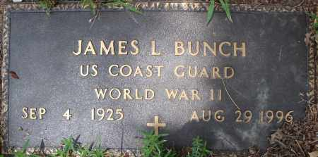 BUNCH (VETERAN WWII), JAMES L - Faulkner County, Arkansas | JAMES L BUNCH (VETERAN WWII) - Arkansas Gravestone Photos