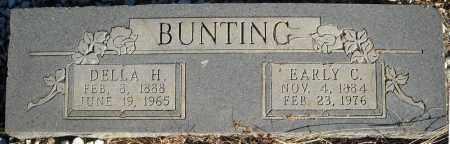BUNTING, EARLY C. - Faulkner County, Arkansas | EARLY C. BUNTING - Arkansas Gravestone Photos