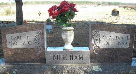 BURCHAM, CARL T. - Faulkner County, Arkansas | CARL T. BURCHAM - Arkansas Gravestone Photos