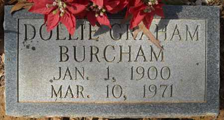BURCHAM, DOLLIE - Faulkner County, Arkansas | DOLLIE BURCHAM - Arkansas Gravestone Photos