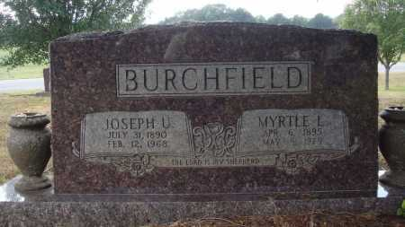 BURCHFIELD, JOSEPH U. - Faulkner County, Arkansas | JOSEPH U. BURCHFIELD - Arkansas Gravestone Photos