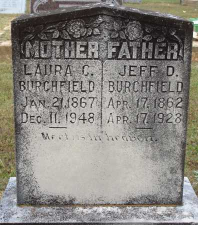 BURCHFIELD, LAURA C. - Faulkner County, Arkansas | LAURA C. BURCHFIELD - Arkansas Gravestone Photos