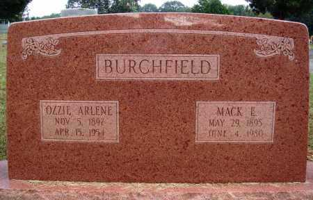 BURCHFIELD, MACK E. - Faulkner County, Arkansas | MACK E. BURCHFIELD - Arkansas Gravestone Photos