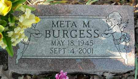 BURGESS, META M. - Faulkner County, Arkansas | META M. BURGESS - Arkansas Gravestone Photos