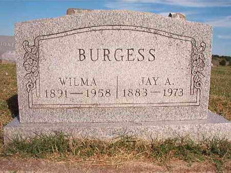 BURGESS, WILMA - Faulkner County, Arkansas | WILMA BURGESS - Arkansas Gravestone Photos