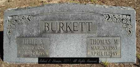 BURKETT, LILLIE B. - Faulkner County, Arkansas | LILLIE B. BURKETT - Arkansas Gravestone Photos