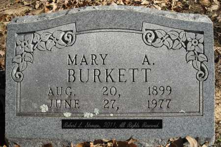 BURKETT, MARY A. - Faulkner County, Arkansas | MARY A. BURKETT - Arkansas Gravestone Photos