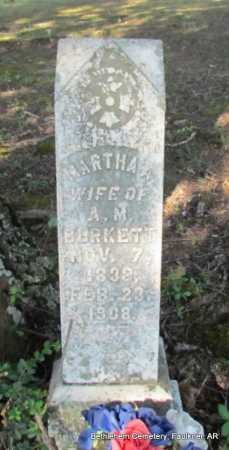 BURKETT, MARTHA A. - Faulkner County, Arkansas | MARTHA A. BURKETT - Arkansas Gravestone Photos