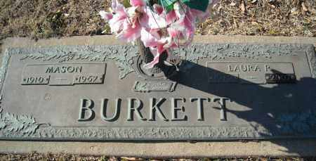 BURKETT, MASON - Faulkner County, Arkansas | MASON BURKETT - Arkansas Gravestone Photos