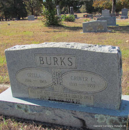 "BURKS, GROVER CLEVELAND ""CLEVE"" - Faulkner County, Arkansas 