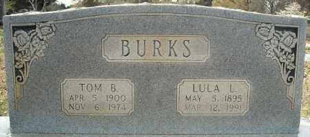 BURKS, TOM B. - Faulkner County, Arkansas | TOM B. BURKS - Arkansas Gravestone Photos