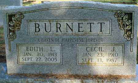 BURNETT, EDITH L. - Faulkner County, Arkansas | EDITH L. BURNETT - Arkansas Gravestone Photos