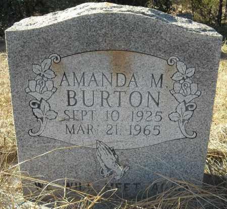 BURTON, AMANDA M. - Faulkner County, Arkansas | AMANDA M. BURTON - Arkansas Gravestone Photos