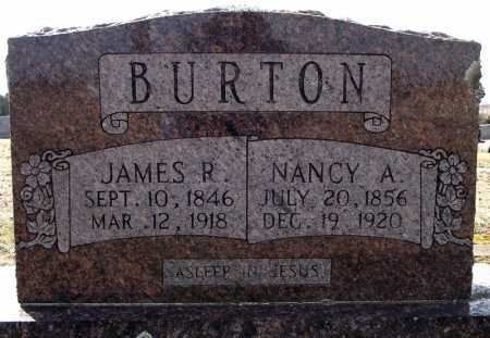 BURTON, JAMES R. - Faulkner County, Arkansas | JAMES R. BURTON - Arkansas Gravestone Photos