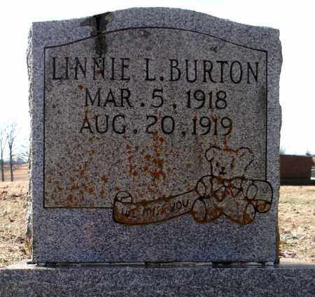 BURTON, LINNIE L. - Faulkner County, Arkansas | LINNIE L. BURTON - Arkansas Gravestone Photos