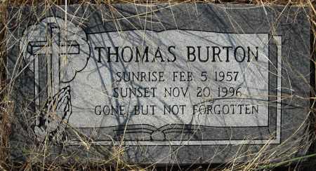 BURTON, THOMAS - Faulkner County, Arkansas | THOMAS BURTON - Arkansas Gravestone Photos