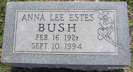 ESTES BUSH, ANNA LEE - Faulkner County, Arkansas | ANNA LEE ESTES BUSH - Arkansas Gravestone Photos