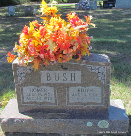 PATRICK BUSH, EDITH EMMA - Faulkner County, Arkansas | EDITH EMMA PATRICK BUSH - Arkansas Gravestone Photos