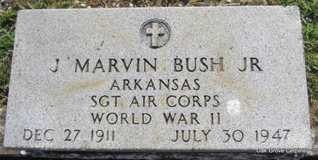 BUSH, JR  (VETERAN WWII), JOHN MARVIN - Faulkner County, Arkansas | JOHN MARVIN BUSH, JR  (VETERAN WWII) - Arkansas Gravestone Photos