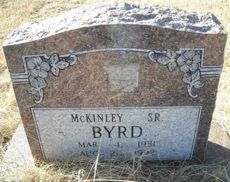 BYRD, SR., MCKINLEY - Faulkner County, Arkansas | MCKINLEY BYRD, SR. - Arkansas Gravestone Photos