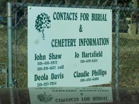 *CADRON VALLEY CONTACTS SIGN,  - Faulkner County, Arkansas |  *CADRON VALLEY CONTACTS SIGN - Arkansas Gravestone Photos