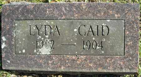 CAID, LYDA - Faulkner County, Arkansas | LYDA CAID - Arkansas Gravestone Photos