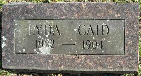 CAID, LYDA - Faulkner County, Arkansas | LYDA CAID - Arkansas Gravestone Photos