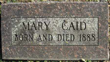 CAID, MARY - Faulkner County, Arkansas | MARY CAID - Arkansas Gravestone Photos