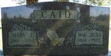 CAID, WM. JESS - Faulkner County, Arkansas | WM. JESS CAID - Arkansas Gravestone Photos