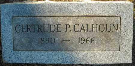 CALHOUN, GERTRUDE P. - Faulkner County, Arkansas | GERTRUDE P. CALHOUN - Arkansas Gravestone Photos