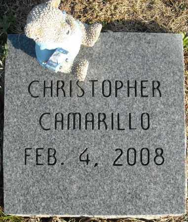 CAMARILLO, CHRISTOPHER - Faulkner County, Arkansas | CHRISTOPHER CAMARILLO - Arkansas Gravestone Photos